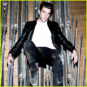 Zachary Quinto is The Milk Man