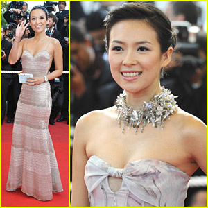 Ziyi Zhang Faces Cannes Premieres