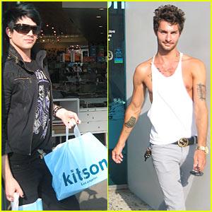 Adam Lambert & Drake LaBry: Kitson Couple