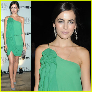 Camilla Belle Parties With Whitney Contemporaries