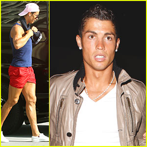 Cristiano Ronaldo Has Legs of Steel