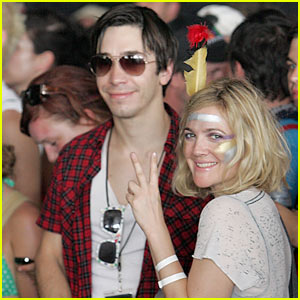 Drew Barrymore & Justin Long: Bonnaroo Bunch