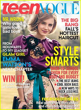Emma Watson: Teen Vogue Cover Girl!