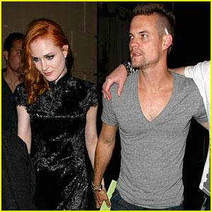 Evan Rachel Wood and Shane West Hold Hands