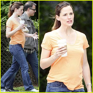 Jennifer Garner: Orange You Happy