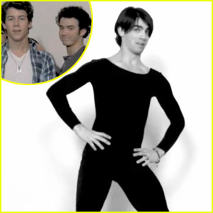 Joe Jonas Dances To 'Single Ladies'