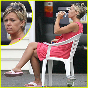 Kate Gosselin is Pink Dress Pretty