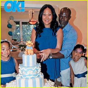 Kenzo Hounsou: Kimora Lee Simmons' New Son!