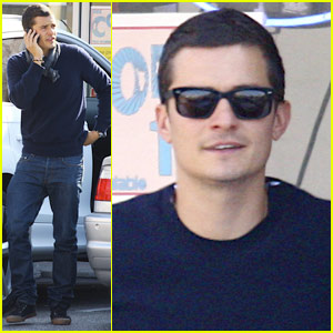 Orlando Bloom: Fine After Fender Bender