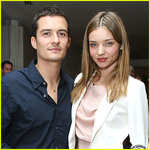 Orlando Bloom & Miranda Kerr: Out for Audi!