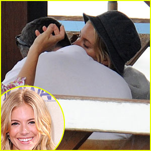 Sienna Miller & Balthazar Getty: Kissing Couple Again!