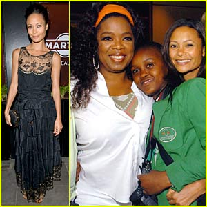 Thandie Newton Teaches At Oprah's School