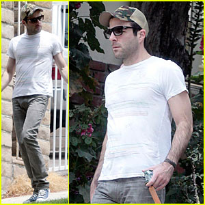 Zachary Quinto is a Doody Dude