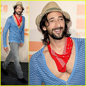 Adrien Brody: Chest Hair Proud!