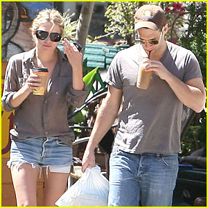 Ashley Olsen & Justin Bartha: Coffee Couple