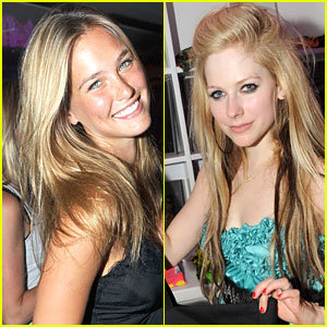 Bar Refaeli & Avril Lavigne Party It Up