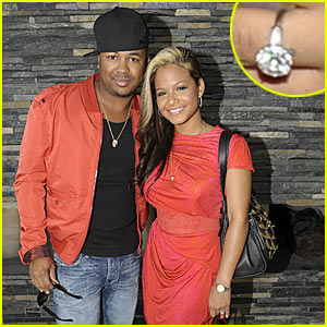 Christina Milian: Peep My Engagement Ring