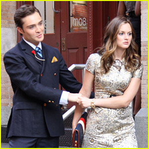 Ed Westwick & Leighton Meester's Romantic Tension