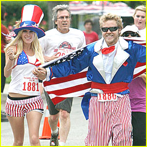 Heidi Montag & Spencer Pratt: Happy Fourth of July!