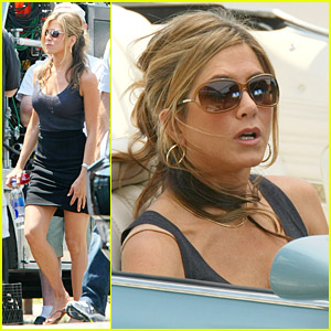 Jennifer Aniston Is The Hunted