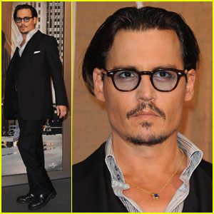 Johnny Depp is a Parisian Public Enemy