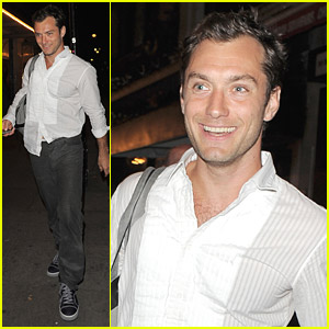 Jude Law is a Happy Hamlet