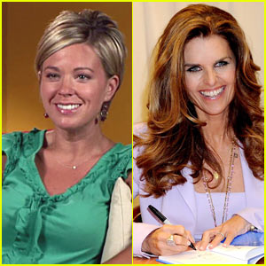 Kate Gosselin & Maria Shriver Team Up