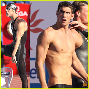 Michael Phelps Gets Smoked in the Pool