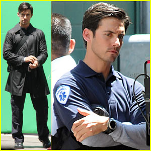 Milo Ventimiglia: Back To A Paramedic