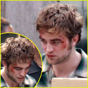 Robert Pattinson: Bloody Hell!