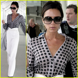 Victoria Beckham is Polka Dot Posh