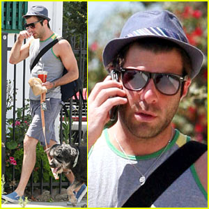 Zachary Quinto is Muy Intelligentsia
