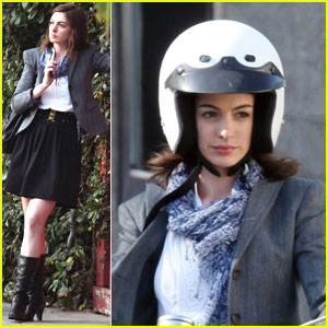 Anne Hathaway is Moped Marvelous