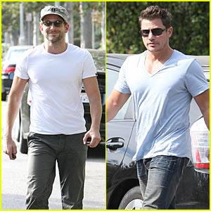 Bradley Cooper & Nick Lachey: New BFFs?