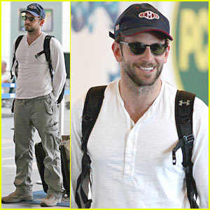 Bradley Cooper Stays Cool In Canada
