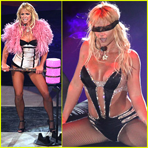 Britney Spears Brings Her Circus To NYC