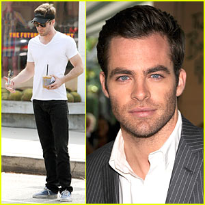 Chris Pine: Hollywood Foreign Press Luncheon!