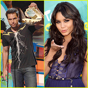 Dane Cook to Vanessa Hudgens: Keep Your Clothes On!