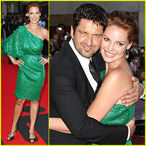 Gerard Butler & Katherine Heigl: The Ugly Premiere
