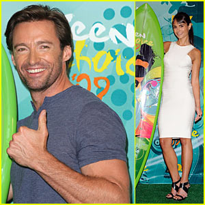 Hugh Jackman & Jordana Brewster: Teen Choice Awards' Choice Movie Actors!