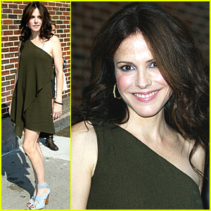 Mary-Louise Parker: Letterman Late Night!