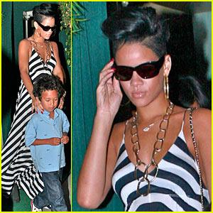 Rihanna is a Giorgio Baldi Babe
