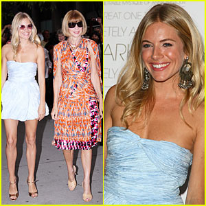 Sienna Miller Premieres The September Issue