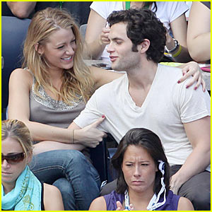 Blake Lively & Penn Badgley: U.S. Open Couple