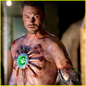 Brian Austin Green as Metallo -- Video Preview!