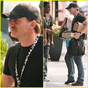 Daniel Craig & Diddy Meet Up In Manhattan