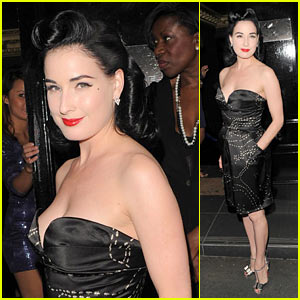 Dita Von Teese: Dance Party at Movida!