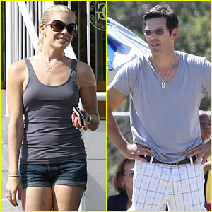 Eddie Cibrian &#038; LeAnn Rimes: Soccer 'N Shopping