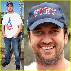 Gerard Butler Takes Giant Steps For 9/11