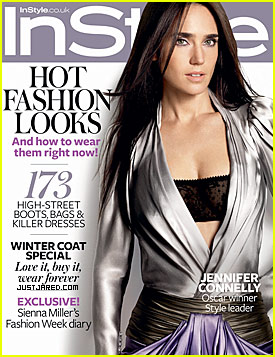 Jennifer Connelly Covers InStyle UK October 2009